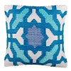 Blue Outdoor Cushion Seville