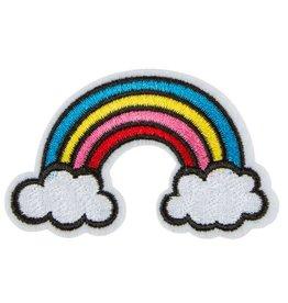 Regenbogen Wolken Bügelbild