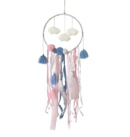 Cloud Dreamcatcher with Fairy Lights