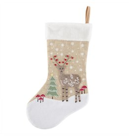 Deer Winter Wonderland Christmas Stocking