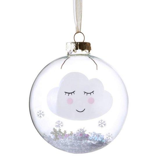 Weihnachtskugel schlafende Wolke 'Sweet Dreams'
