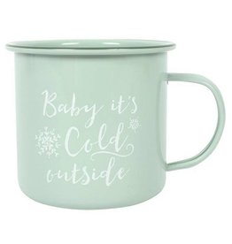 'Baby It's Cold Outside' Winter Mug