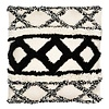 Black & Beige Boho Cushion