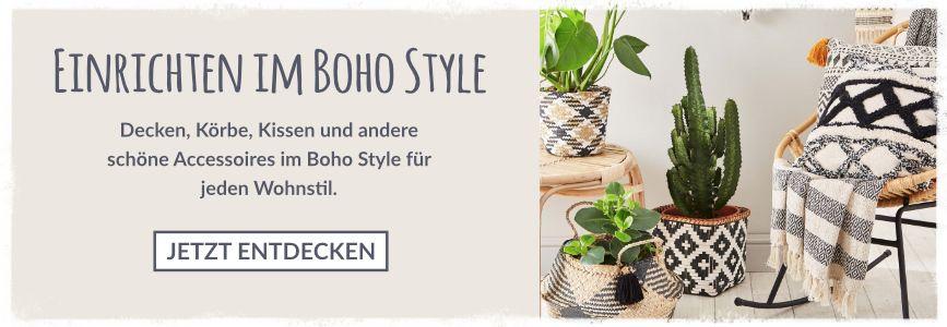 Einrichten im Boho Style