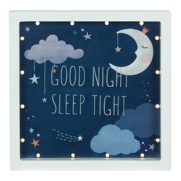Leuchtbox 'Good Night Sleep Tight'