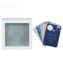 Baby Milestone Cards with Memory Box