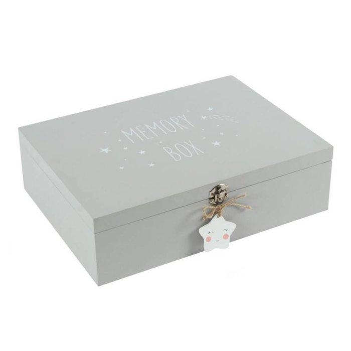 Große graue Erinnerungsbox