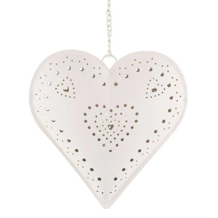 Hanging Heart Tealight Holder