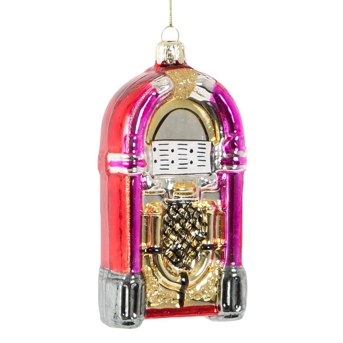 Retro Jukebox Weihnachtsbaumdeko