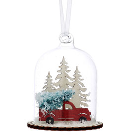 Winter Journey Scene Bauble