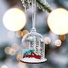 Weihnachtskugel Winterreise