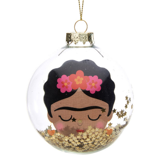Frida Kahlo Weihnachtskugel