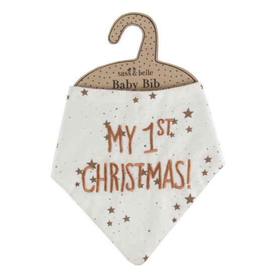 'My First Christmas' Bib