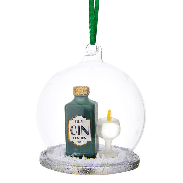 Gin & Tonic Dome Bauble