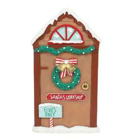 Magical Santa's Workshop Door