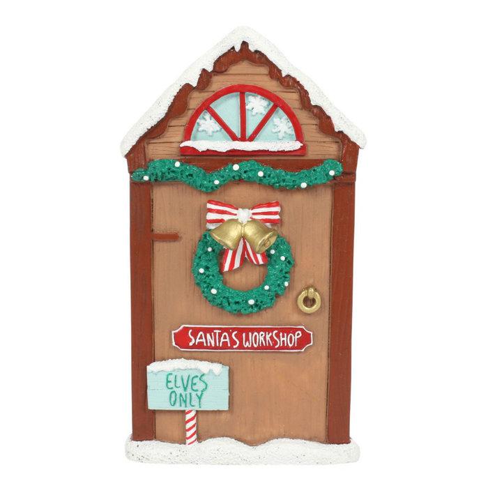 Magical Santa's Workshop Door