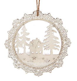Winter Wonderland Scene Bauble