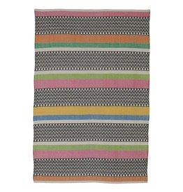 Teppich Maya aus recycelter Baumwolle