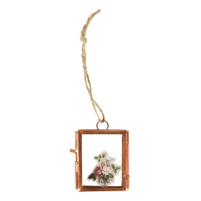 Copper Finish Mini Picture Frame