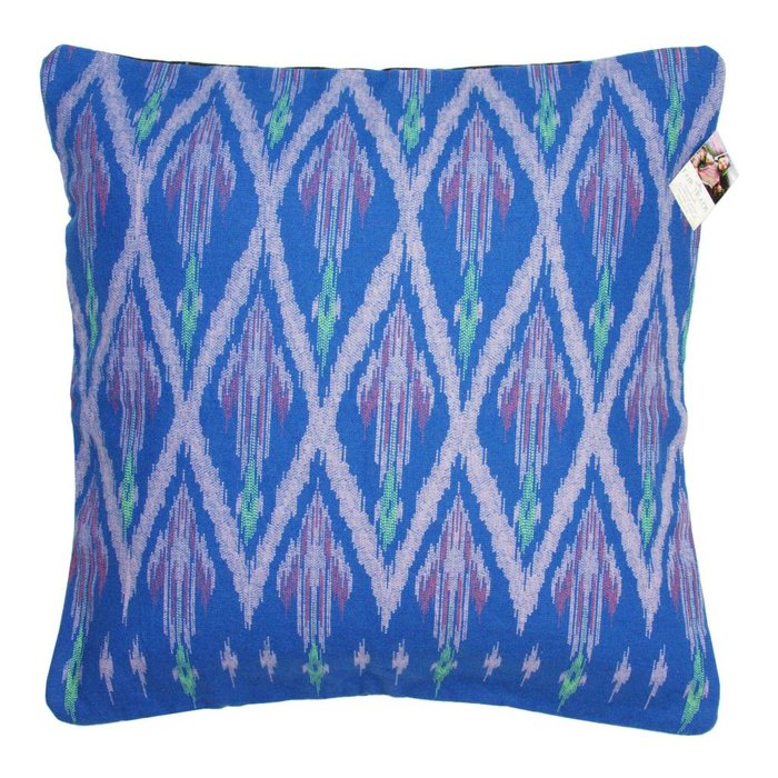Tribal Printed Blue Cushion Cover