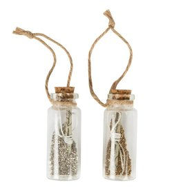 Fairy Dust Vial Christmas Decoration