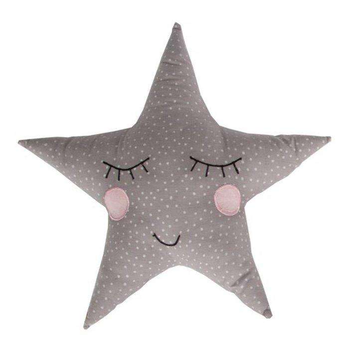 Polka Dot Star Cushion