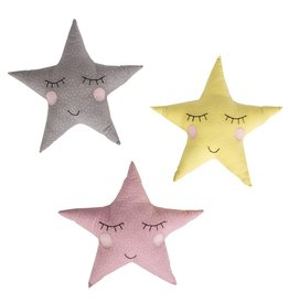 Polka Dot Star Cushion