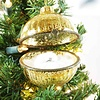 Gold Christmas Trinket Bauble