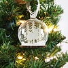 Weihnachtskugel Winterwald