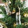 Weihnachtsdeko Feenstaub Glasgefäß