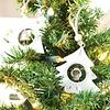 Weihnachtsbaum Hängedekoration mit Glöckchen