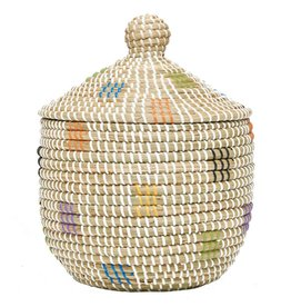 Seagrass Basket Geo