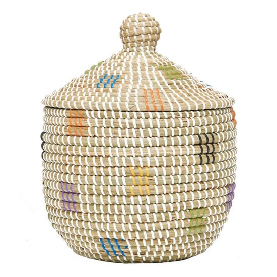 Seagrass Basket Geo