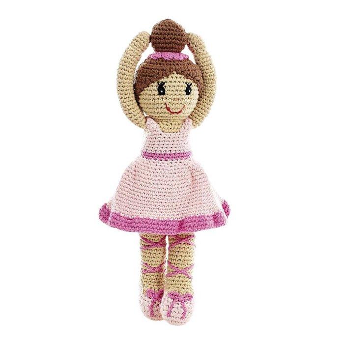 Ballerina Stoffpuppe