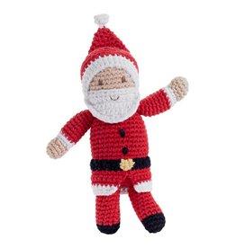 Weihnachtsmann-Rassel