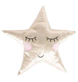 Gold Shining Star Cushion