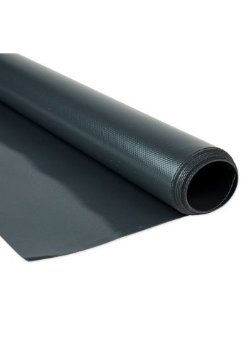 2,5m Antraciet PVC zeildoek 680gr/m2 per meter