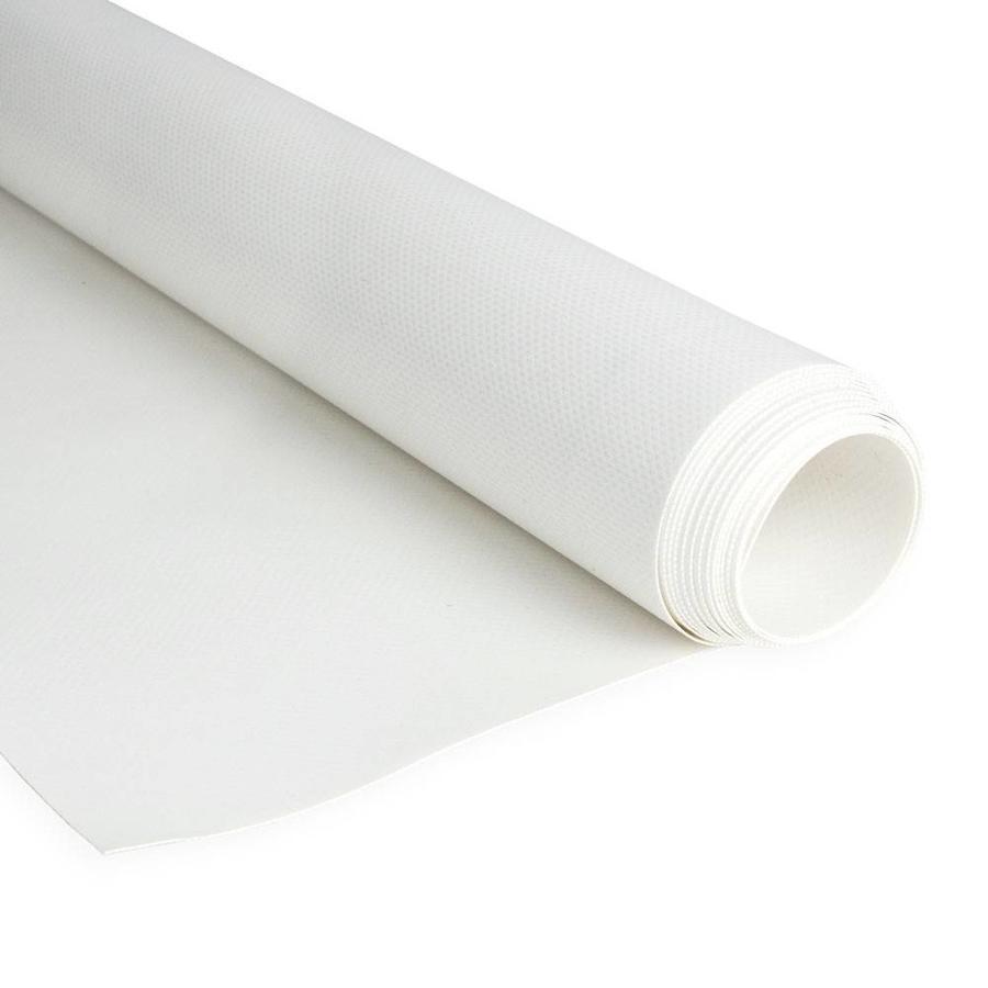 2,5m rolbreedte Wit RAL9010 680gr/m2 PVC zeildoek