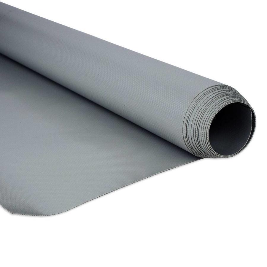 2,5m rolbreedte Grijs RAL7037 680gr/m2 PVC zeildoek