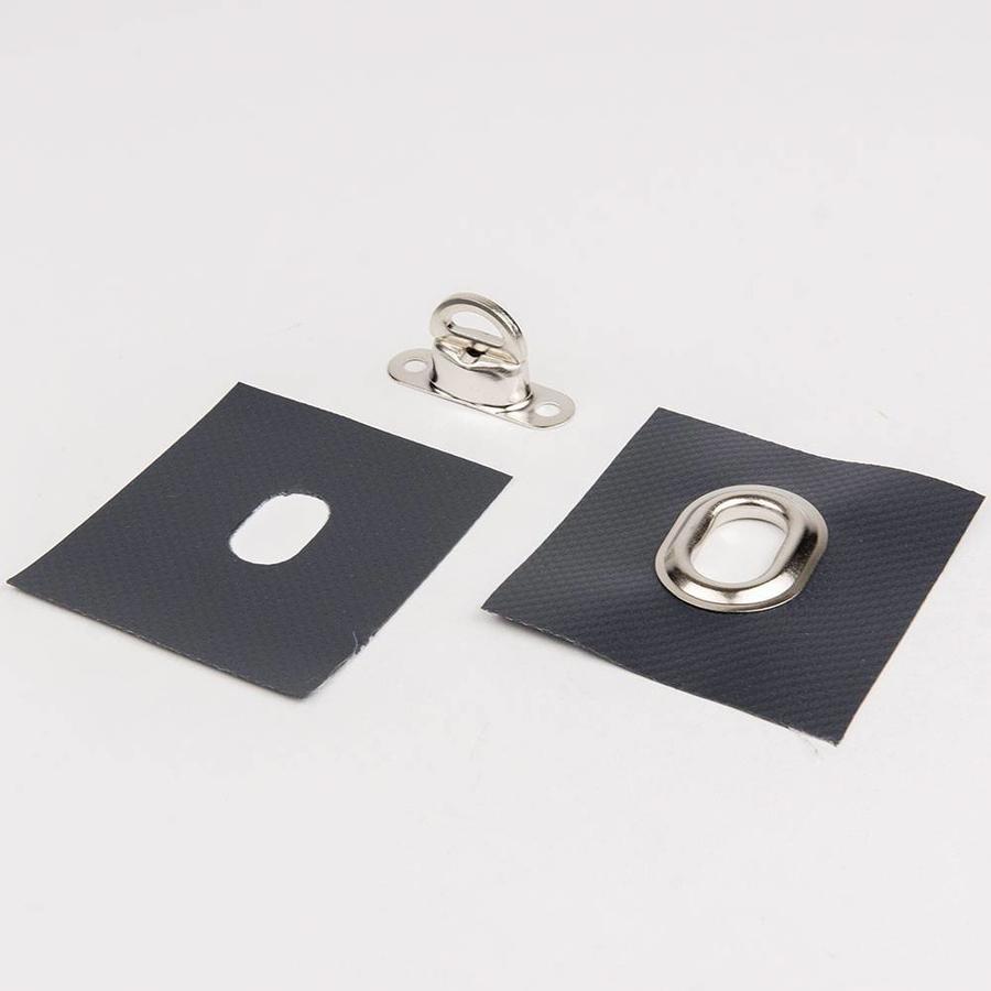 Pro-serie Handstempel ovaal 22,5 x 13,5mm voor ovale zeilringen en tourniquets