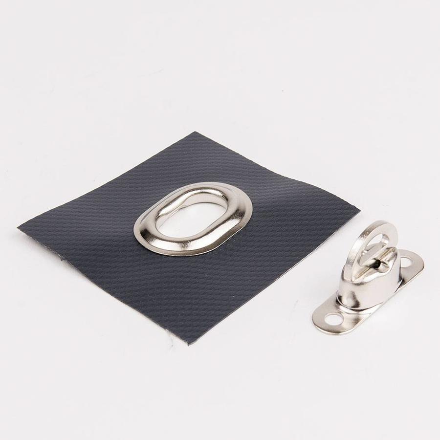 Zeilringen 22,5x13,5mm ovaal voor tourniquets draaisluitingen