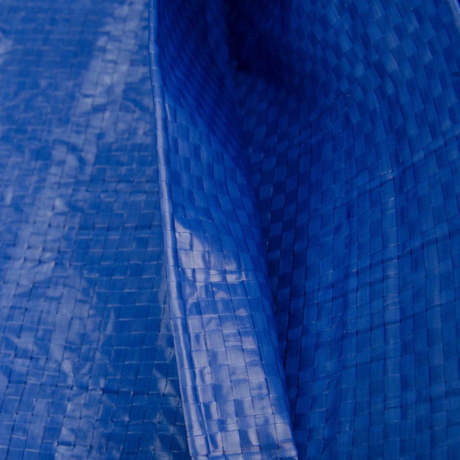 Afdekzeil PE Blauw 6x8 Bouwzeil 250gr Polyethyleen