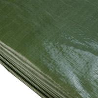 Afdekzeil PE Groen 4x6 Bouwzeil 250gr Polyethyleen
