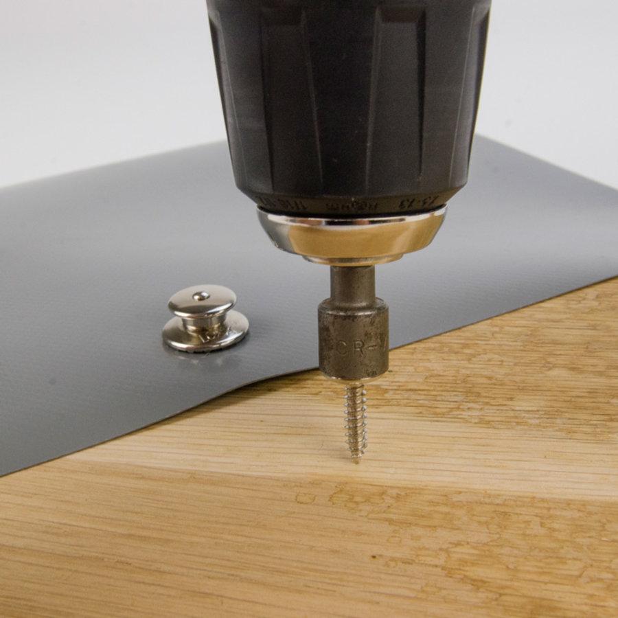 Loxx Drukknopen Schroefbaar Zelftappend voor in hout en polyester Tenax