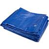Afdekzeil PE Blauw 3x4 Bouwzeil 100gr Polyethyleen
