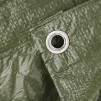 Afdekzeil PE Groen 6x8 Bouwzeil 100gr Polyethyleen