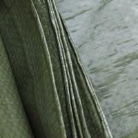 Afdekzeil PE Groen 10x15 Bouwzeil 100gr Polyethyleen