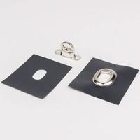 Pro-serie Handstempel ovaal 17 x 11mm voor ovale zeilringen en tourniquets