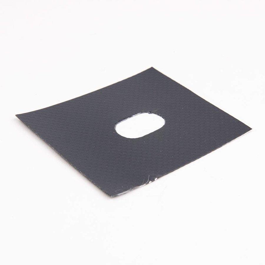 Zeilring / kous Ovaal 17 x 11 mm Koper-Vernikkeld voor tourniquets