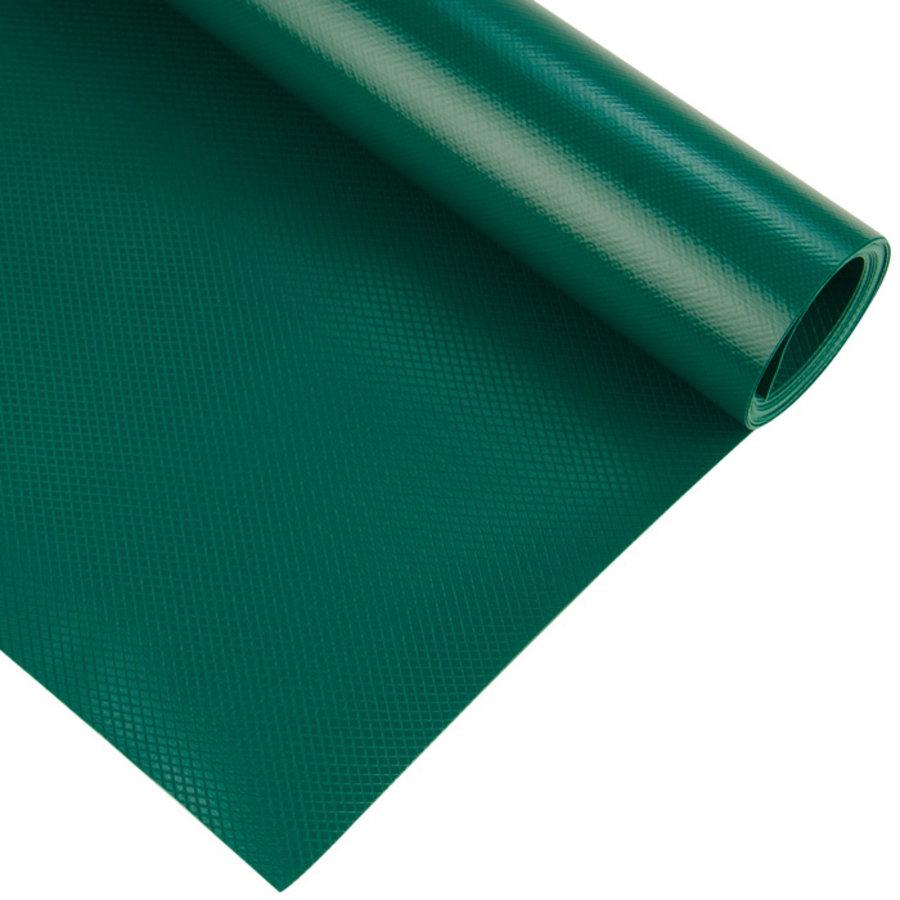 2,5m rolbreedte Groen luxe RAL6028 680gr/m2 PVC zeildoek